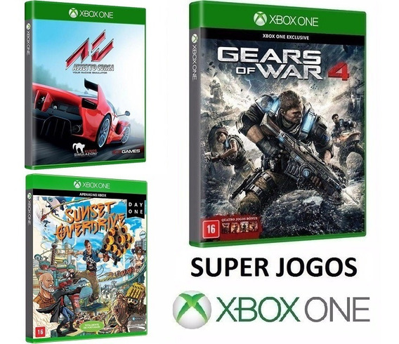 Gears Of War 4 + Assetto Corsa + Sunset Overdrive - Xbox One