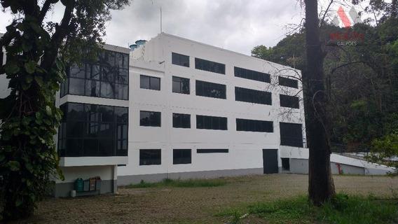 Galpão Industrial Para Locação, Jardim Mimas, Embu Das Artes. - Ga0256 - Ga0256