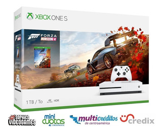 Xbox One S + Forza 5 + Financiamiento Credix Mcuotas
