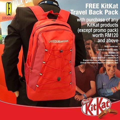 Mochila Kit Kat