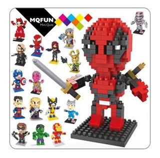 Mini Bloques Figuras Avengers End Game Marvel