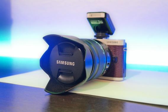 Câmera Mirrorless Samsung Nx 300 + Lente 18-55mm