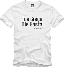 Camisa Evangélica Tua Graça Me Basta Crist 019