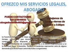 Abogado Ofrece Servicios Legales, Avaluos, Demandas, Docume