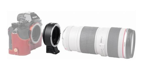 Adaptador De Lente Canon Eos Ef Para Camera Sony Nex