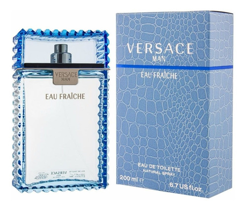 Perfume Original Hombre De Versace Eau De Fraiche 200 Ml