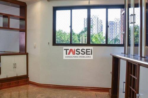 Apartamento Com 4 Dormitórios À Venda, 196 M² Por R$ 1.196.000,00 - Vila Santo Estéfano - São Paulo/sp - Ap8463