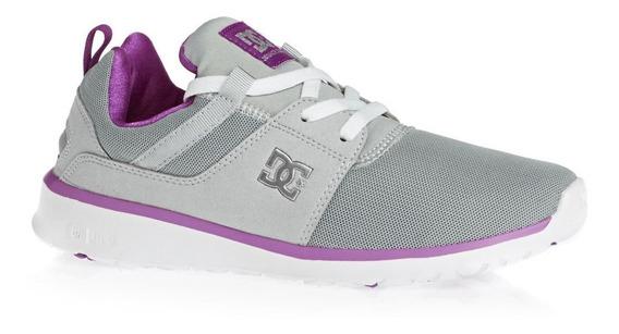 Zapatillas Dc Shoes Mujer!! Modelo Heathrow Armor Purple!!!
