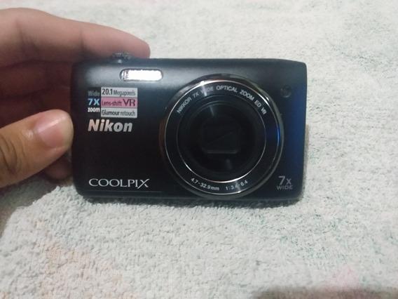 Câmera Digital Nikon Coolpix S3500