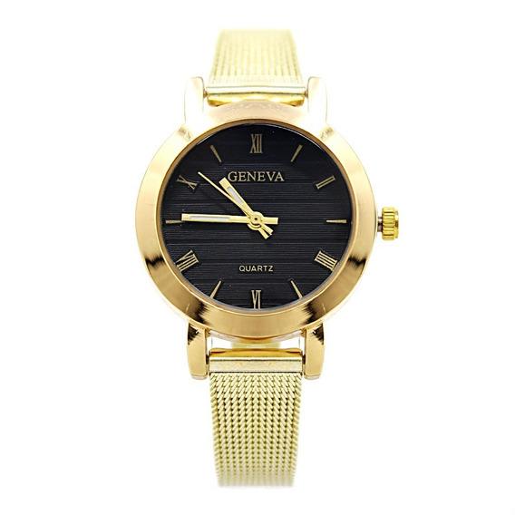 Reloj Dama Mujer Tuing Dorado