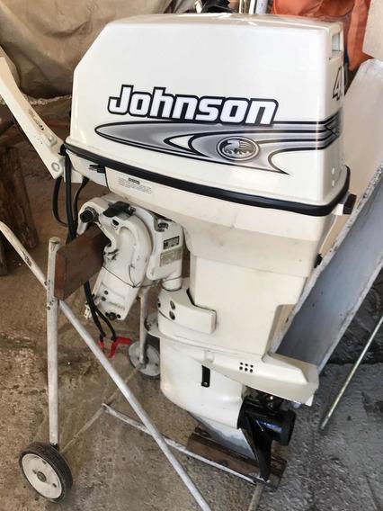 Motor Johnson 40 Hp Modelo 2000 Único Dueño/ Muy Buen Estad