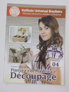 Kit Revista Artesanato Pintura Madeira