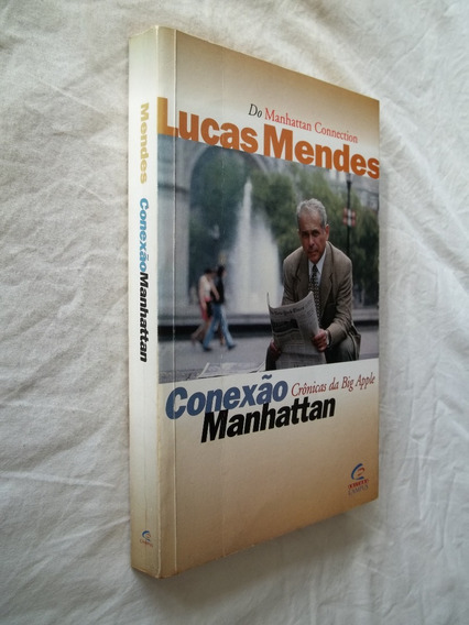 Livro - Conexão Manhattan - Lucas Mendes