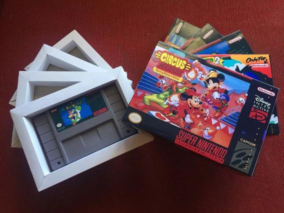 1 Label Super Nintendo, Adesiva , Hd, Com Película! + Envio