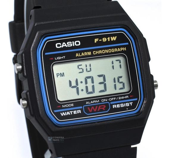 Reloj Casio F91 - Retro - Clásico - 100 % Original ***