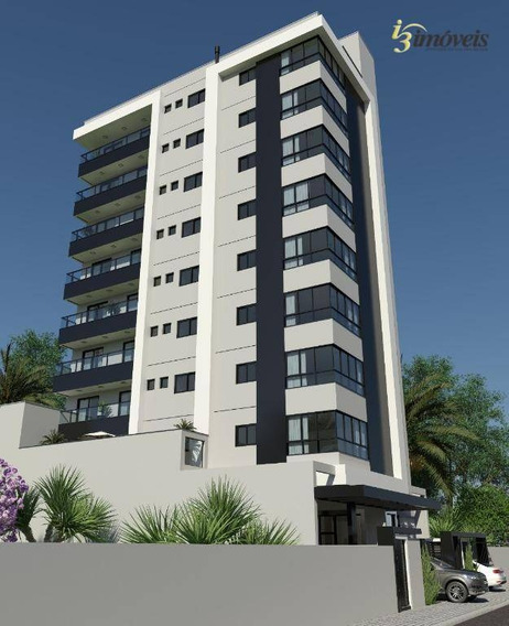 Apartamento A Venda Com 1 Suíte E Duas Demis, Duas Vagas De Garagem, Quadra Mar Em Balneário Piçarras - Ap1702