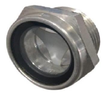Visor De Nível De Oleo Aluminio Rosca Bsp 1/2