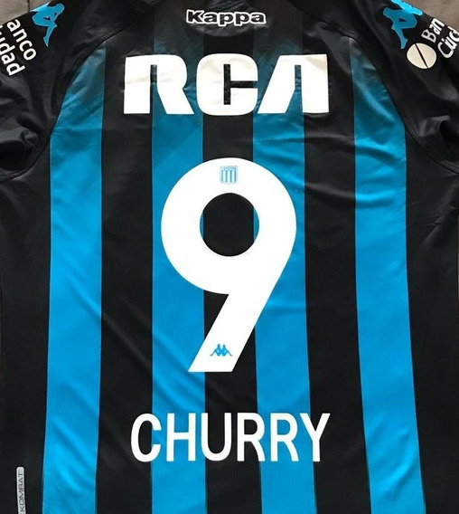 Estampado Numero Racing Club 2019 - 1 Digito + Nombre