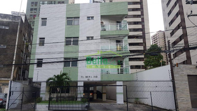 Apartamento Com 2 Dormitórios Para Alugar, 58 M² Por R$ 1.650/mês - Madalena - Recife/pe - Ap1399