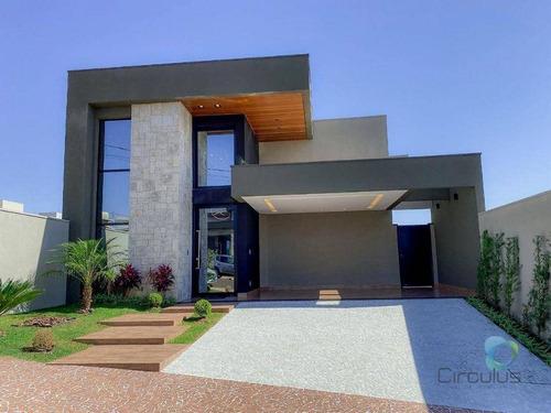Casa Com 3 Suítes À Venda, 151 M² - San Marco Ii/ilha Gênova  - Ribeirão Preto/sp - Ca1958
