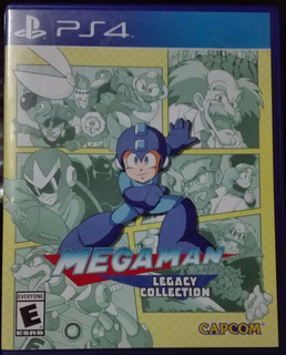 Juego Megaman Legacy Collection Ps4 Original