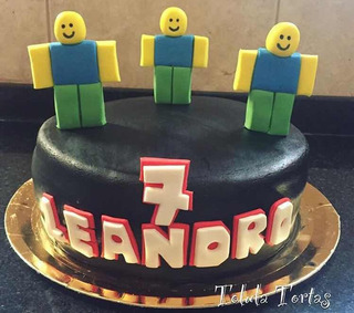 Torta De Cumplea U00f1os Roblox Free Roblox Cards Pin Number