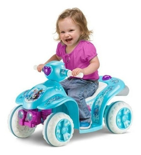 Oferta! Moto Electrica 6v Disney Frozen Montable