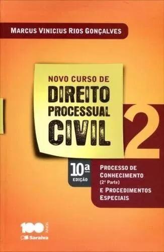 Novo Curso De Direito Processual Civil - Vol. 2 - 10ª Ed.