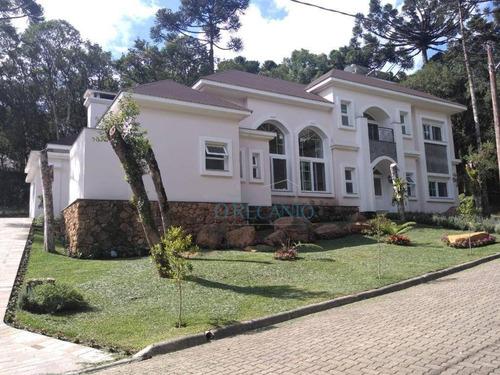 Casa Com 4 Dormitórios À Venda, 323 M² Por R$ 3.000.000,00 - Pinheiro Grosso - Canela/rs - Ca0542