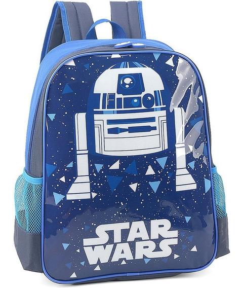 Mochila Infantil - Star Wars - Robô R2d2 - Luxcel
