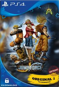 Jump Force Ps4 Cod 1 Psn | Edição Normal | Ps4 1 | Promoção
