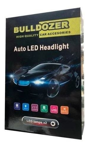 Luces Led Para Auto Bulldozer 7600 Lumenes H4