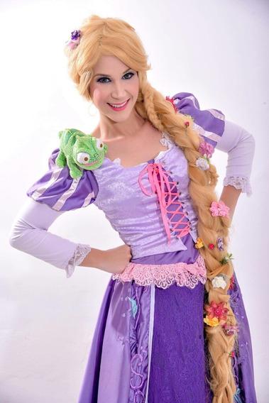 Rapunzel Vestido Adulto Cosplay