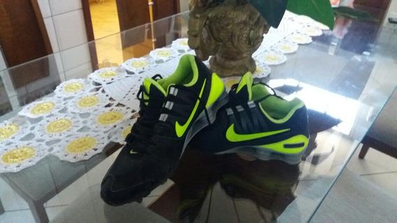 Vendo Tênis Tênis Couro Nike Shox Avenue Ltr Masculino -