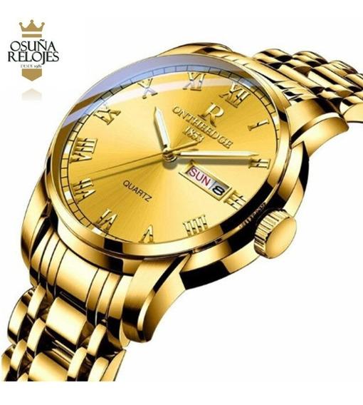 Relógio Masculino Rontheedge 100% Funcional Luxo Oferta