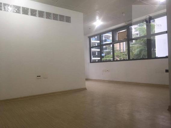 Sala Comercial, Para Locação, Moema, 41 M² - São Paulo/sp - Sa0277