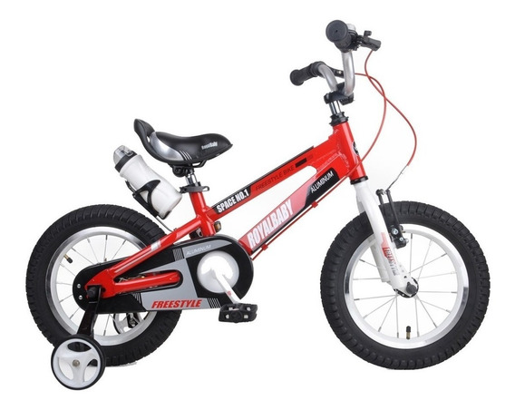 Bicicleta Royal Baby Space Aluminio Rodado 14 - Star Cicles