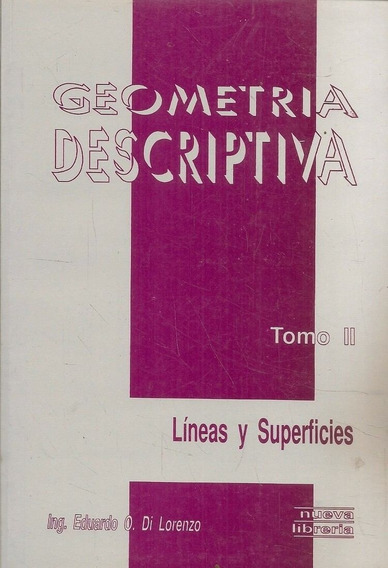 Geometría Descriptiva - Tomo 2 - Di Lorenzo
