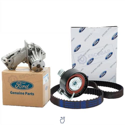 Kit Distribución Correa + Tensor + Bomba - Ford Ecosport 1.6