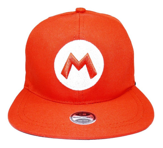Boné Super Mario Bros