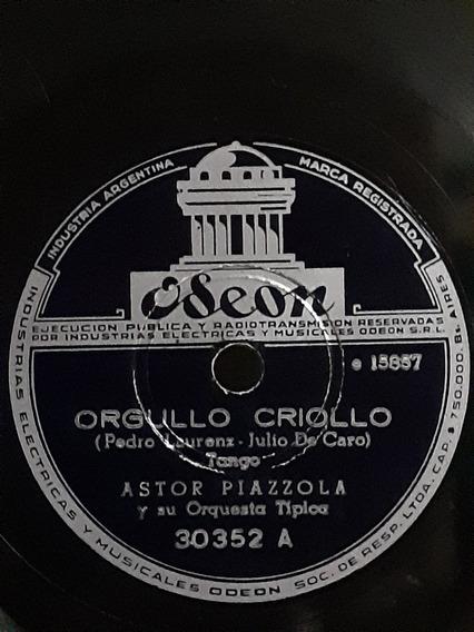 Astor Piazzola Y Orquesta Disco De Pasta Raro Vintage