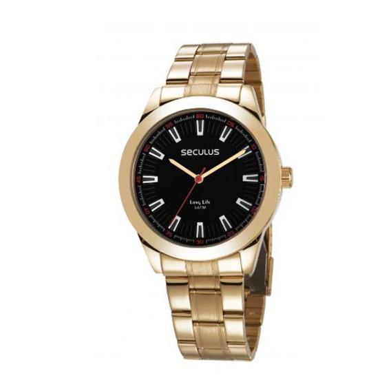 Relógio Seculus Masculino Long Life 28978gpsvda3