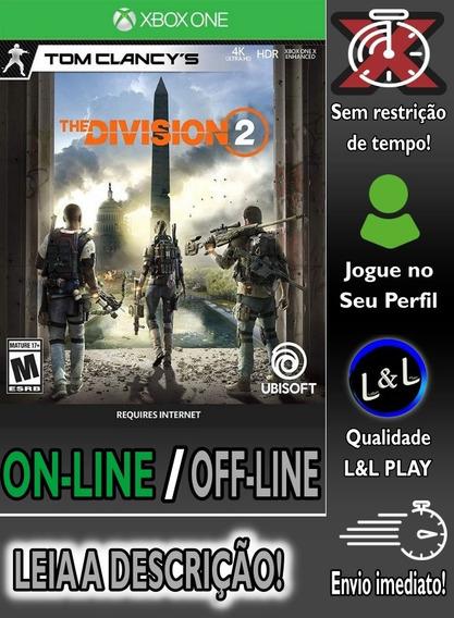 Tom Clancy The Division 2 Xbox One Jogue Online Ou Ofline