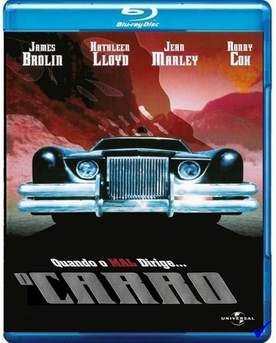 O Carro, A Máquina Do Diabo Blu Ray Dublado E Legendado