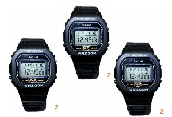 03 Relógio Bolsonaro Presidente Digital Aqua Prova Agua