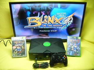 Consola Xbox Clasico Original 1 Control Y 2 Juegos A Escoger