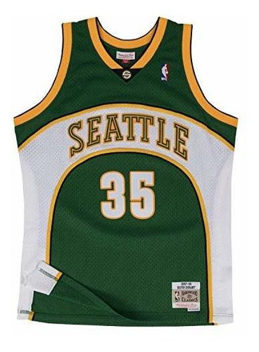 Kevin Durant Seattle Supersonics Mitchell & Ness Nba - Camis