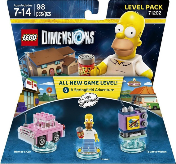 Lego Dimensions - Simpsons - Level Pack