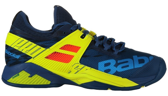 Tenis Babolat Propulse Rage Azul / Verde Adulto