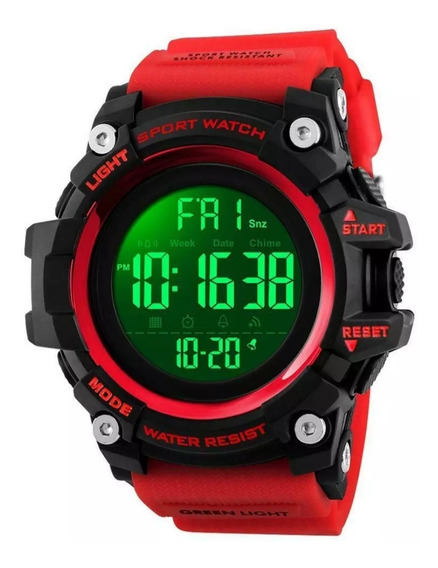 Relógio Skmei 1384 Digital Display Led A Prova D